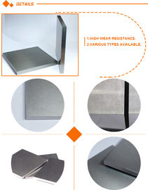Ground cemented Tungsten Carbide Plate high thermal strength for cutting purpose