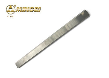 China Sharp Edge Tungsten Carbide Bar 100 % Virgin Material For Plastic / Rubber Cutting supplier