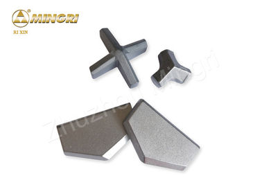 China YG8 Tungsten Carbide Tips Percussion Hammer Drill Bit Tips For Hardened Steel supplier