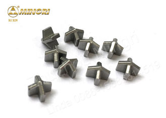 YG8 Tungsten Carbide Tips Percussion Hammer Drill Bit Tips For Hardened Steel