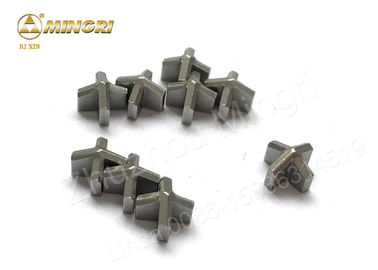 YG8 Tungsten Carbide Tips / Drill Bit Tips Fit Hardened Steel And Concrete