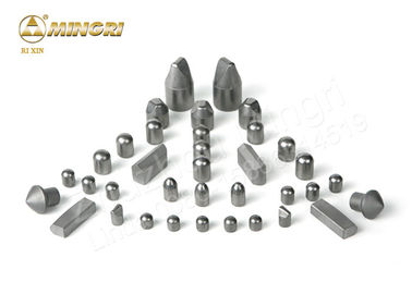 China Widia Cemented Tungsten Carbide Tips Polishing Surface For Button Rock Drill Bit supplier