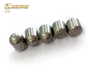 China Auger Drill Cemented Carbide Buttons / Bullet Teeth For Mining Drill Bits supplier