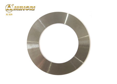 China Cemented Carbide Blade Cutting Non Ferrous Foil round rings raw material supplier