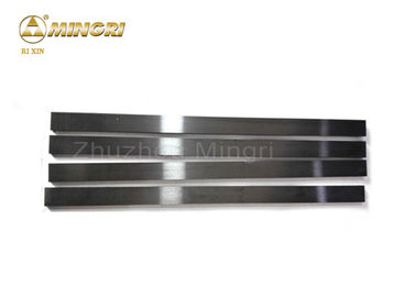 China YG8 Rectangular Grinding Tungsten Carbide Bar For Machining Cast Iron Size 210*5*3 supplier