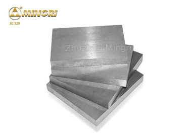 YG13X Cemented Tungsten Carbide Plate Square Blocks Shape For Customed