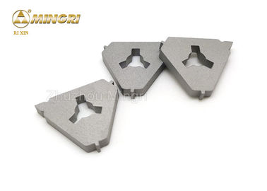 China Triangle Small Plate Tungsten Carbide Scraper Blade For Clean Dirty Things In The Trough supplier