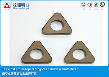China P20 P30 Cemented Carbide Inserts shim , Cutting Tool Inserts factory