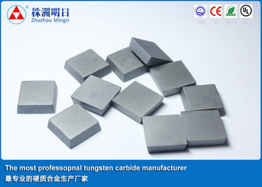 F Cemented Carbide Brazing Carbide Inserts WC  Cobalt  High Strength