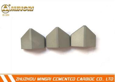 YG13C Sand Blasting Inserted Shield Bits Tungsten Carbide Material