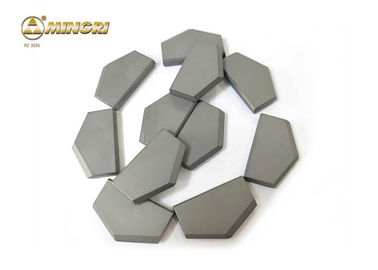 TC Cemented Tungsten Carbide Cutting Tips , Tungsten Carbide Tool Tips