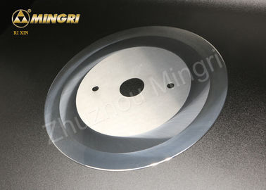 Customized Tungsten Carbide Rotary Circular Paper Cutter Knife Blades