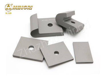 Widia Cemented Tungsten Caribde Tamping Tool Wear Part Plate Tips For Railway Track Maintance