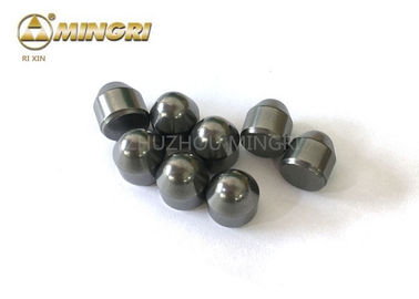 D10mm*H16mm  Mining Tips Tungsten Carbide Buttons High Resistant Strength YG11C