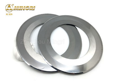 Tungsten Carbide slitter blade for paper cutting hard alloy round knives ground