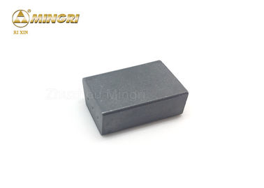 Tungsten Carbide Snow Plow Bits Hard Alloy Tool Part High Wear Resistance